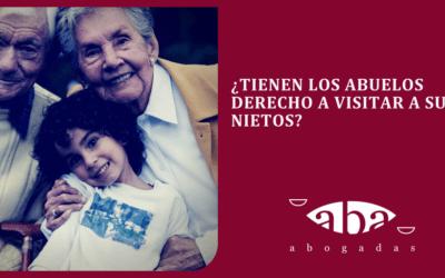 ¿Tienen los abuelos derecho a visitar a sus nietos?