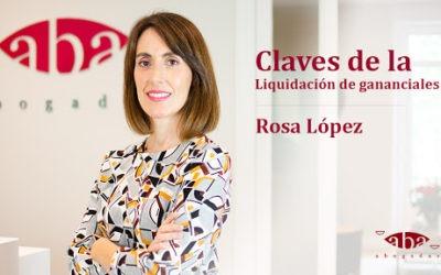 Claves de la liquidación de gananciales (Videopost)
