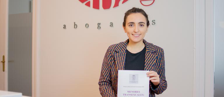 María Gemma Pérez, ganadora del Premio de Secciones 2018 del ICAM en la categoría de Igualdad