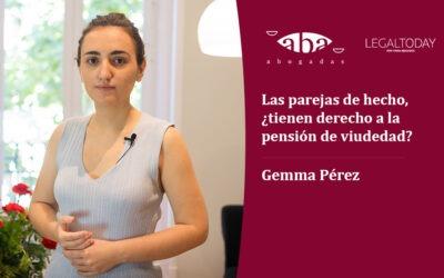 Las parejas de hecho, ¿tienen derecho a la pensión de viudedad?