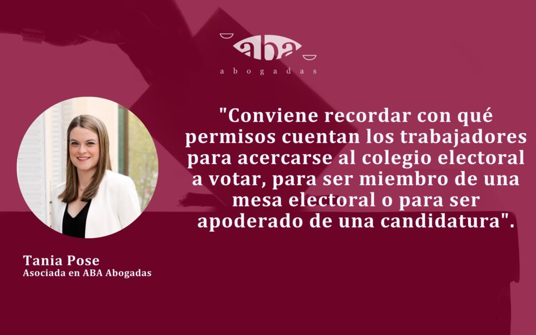¿Cuáles son los derechos de los trabajadores para las elecciones del 4 de mayo en Madrid?
